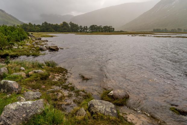 Two earthquakes felt by locals in Glen Coe in the Scottish Highlands