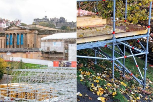 Edinburgh's Christmas market given building safety go-ahead - 48 hours before event opens to the public