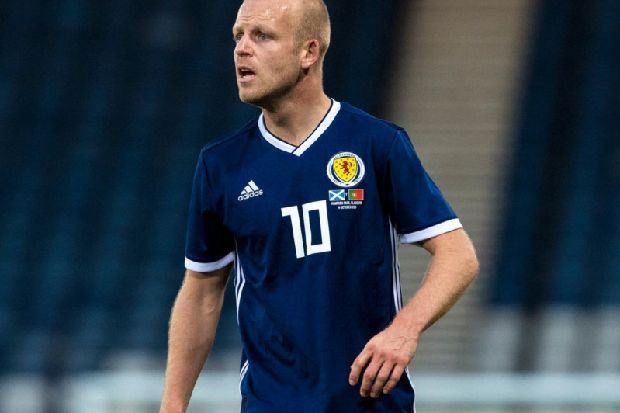 Hearts striker Steven Naismith earns Hall of Fame spot with 50th cap