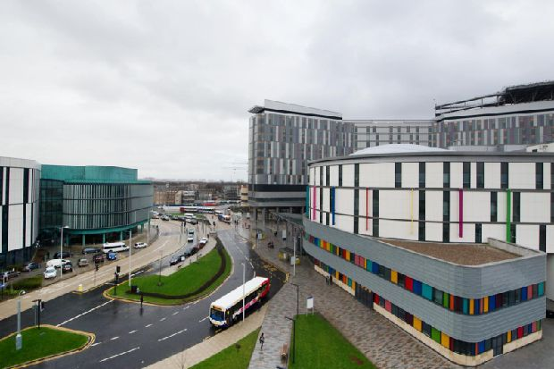 Death of toddler at Scottish hospital investigated by police