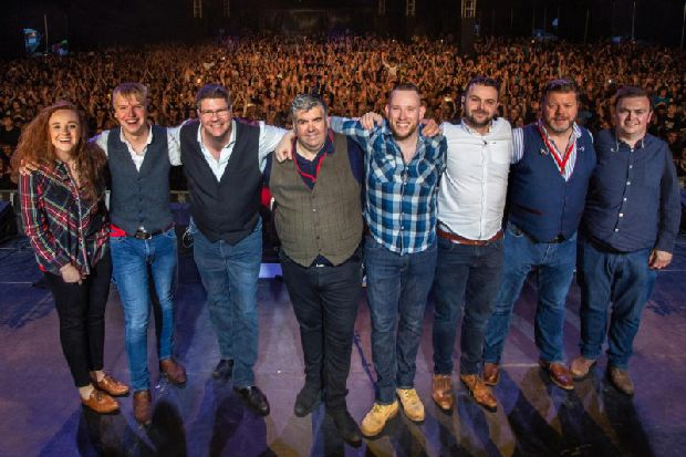 Hebridean favourites Skipinnish to play biggest ever gig beneath Stirling Castle - The Scotsman