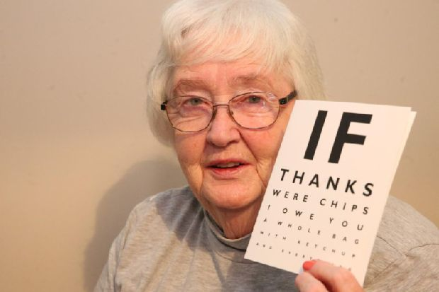 Optician spotted Scottish gran was having stroke during consultation