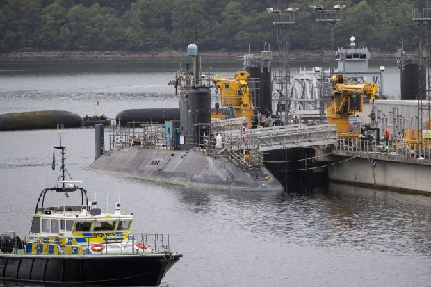 Artificial intelligence and 'big data' vital to UK's nuclear deterrent – Rear Admiral John Weale