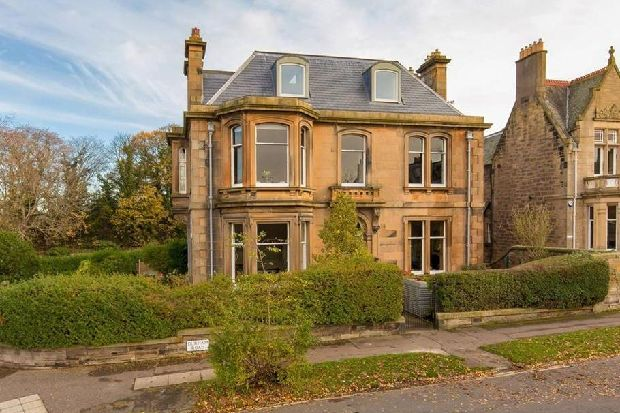 Take a look inside this converted Edinburgh flat with period features, beautiful interiors and uninterrupted views