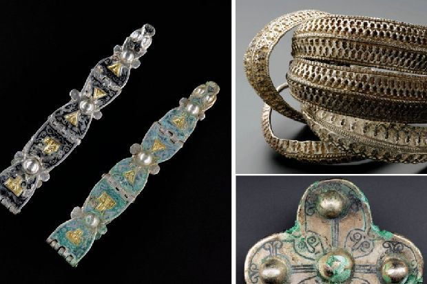 Painstaking clean-up of Scottish Viking hoard unlocks new secrets