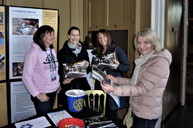 South Queensferry Rotary club is Hopetoun House Christmas Fair charity