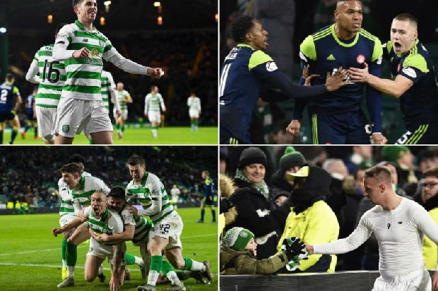 Celtic 2-1 Hamilton Accies: Scott Brown scores injury-time winner as Hoops capitalise on Rangers' slip-up