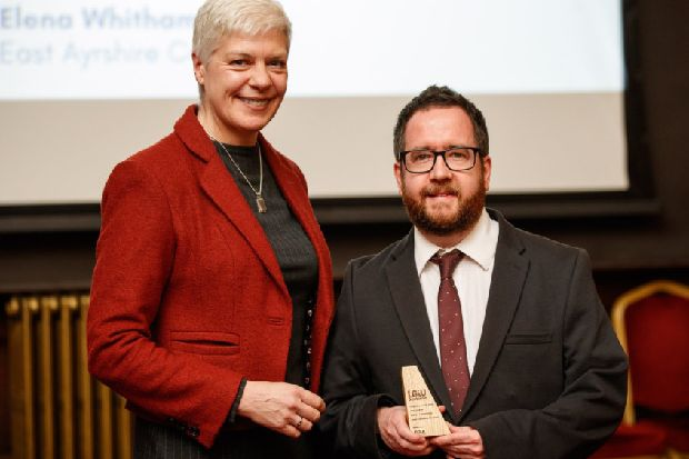 Top award for Galashiels councillor Euan