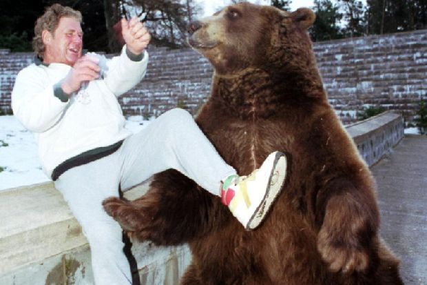 Legendary keeper of Hercules the Bear dies with plans to bury him next to beloved grizzly