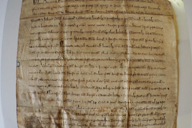 Document signed by Robert the Bruce 700 years ago which changed fortunes of Scots city goes on show