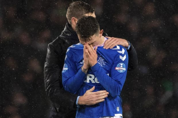 Tears shed by Rangers players proves their loyalty to me says Steven Gerrard