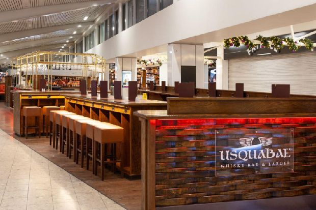 Popular West End whisky bar and larder opens new bar at Edinburgh Airport