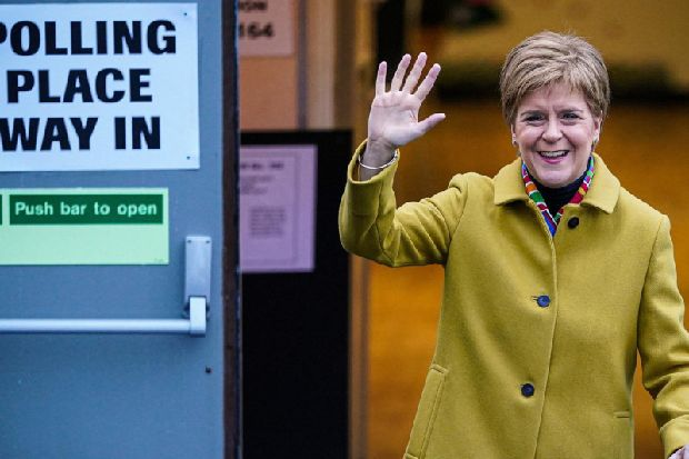 General Election results 2019: Nicola Sturgeon says Scotland and UK on 'divergent paths'