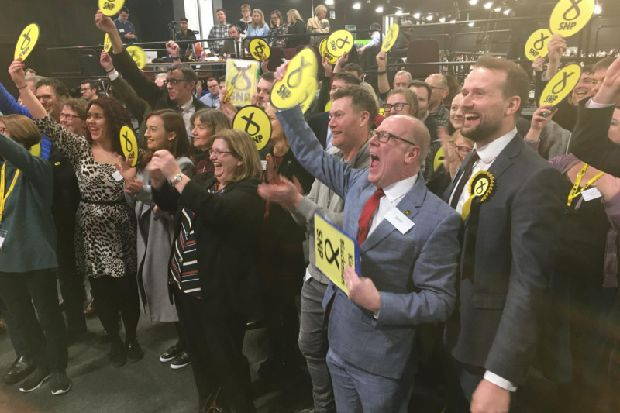 General Election 2019 - SNP's deputy leader Kirsty Blackman 'overwhelmed' by Aberdeen North win