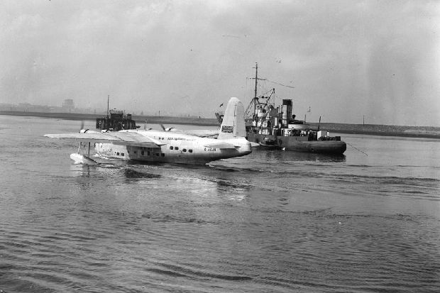 How Leith's flying boat service to England, once hailed as 'future of aviation', was soon sunk