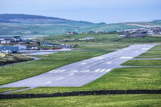 Airline accused of 'shameful' Shetland fares