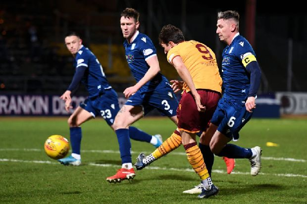 Dundee 0-3 Motherwell: Christopher Long hat-trick steals the show