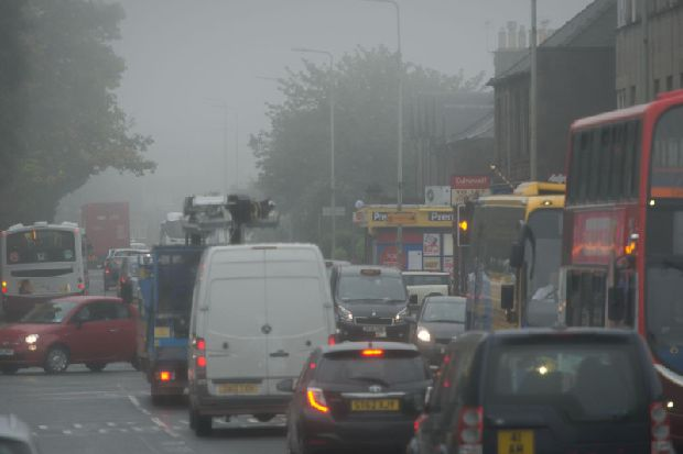 Edinburgh roads named among Scotland's most polluted streets