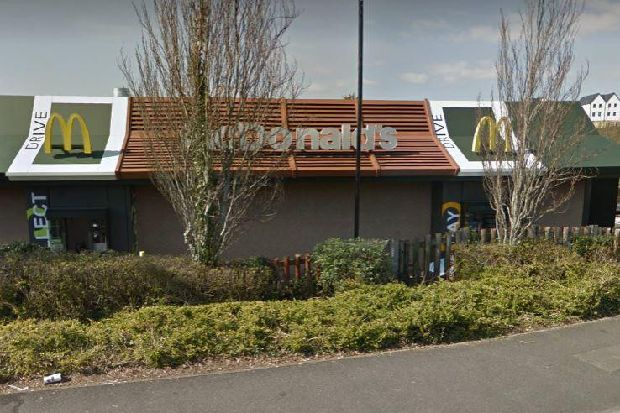 Gang of 100 youths forced to leave McDonald's after abusing staff and causing damage