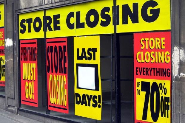 These are the biggest retail closures of the last decade - how many do you remember?
