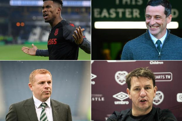 Rangers step up striker pursuit, Celtic boss defends under-fire player, Hibs player scouted, two to leave Hearts - Scottish Premiership Rumour Mill