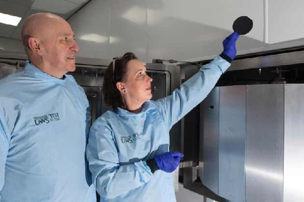 University of the West of Scotland premieres £12m thin films and sensor facility