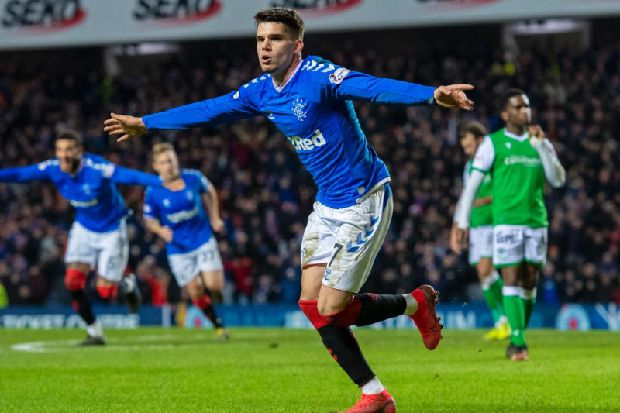 Steven Gerrard hails Rangers goal hero Ianis Hagi but admits Ibrox pitch is awful