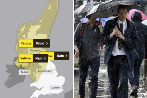 Storm Ciara: Two yellow weather warning for wind and rain issued for Scotland as experts predict snow on the horizon