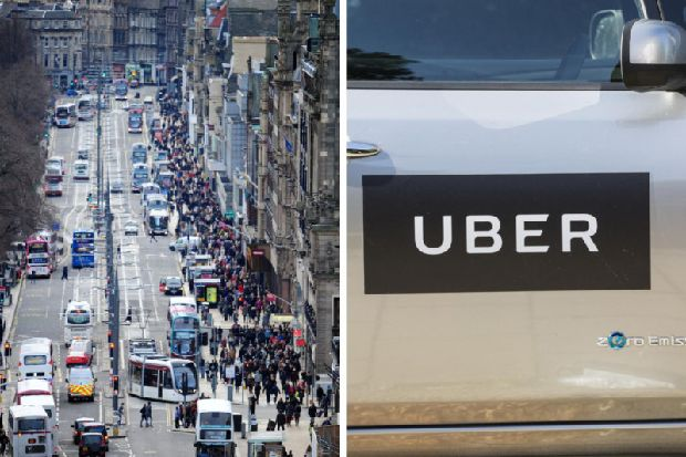 Scottish Uber driver feared he was being robbed by acid attacker after liquid sprayed in face