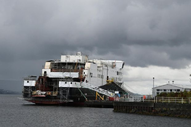 Ferguson shipyard 'forced into administration' by Scottish Government