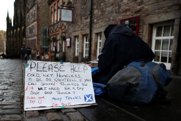 Here's what to do if you see someone sleeping rough – Ewan Aitken