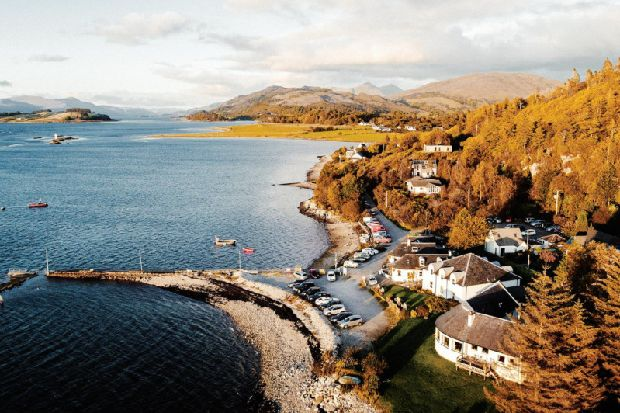 The Pierhouse Hotel, Port Appin, Argyll, Do Not Disturb hotel review, Scotland on Sunday Travel