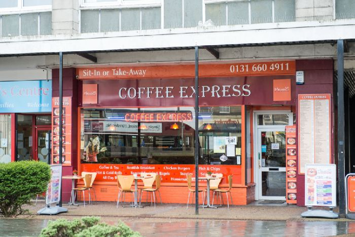 Coffee Express in Dalkeith. Picture: Ian Georgeson
