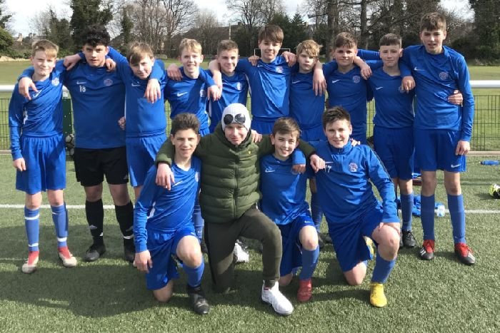 d5affc5f420424 Musselburgh Windsor 14s beat Spartans Youth to book their place in the  final of the Kenny
