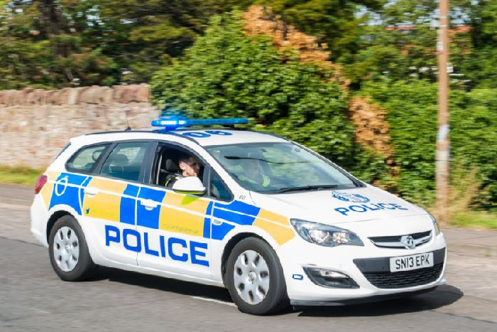 A Police Car Pic Ian Georgeson