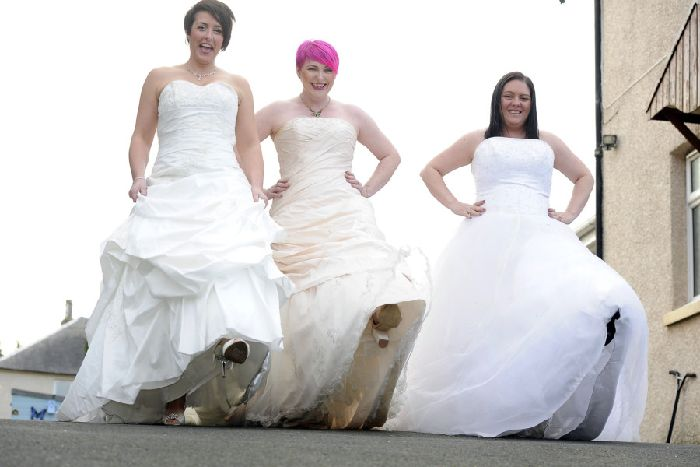 Don Your Wedding Gown And Raise Cash For Charity Falkirk Herald