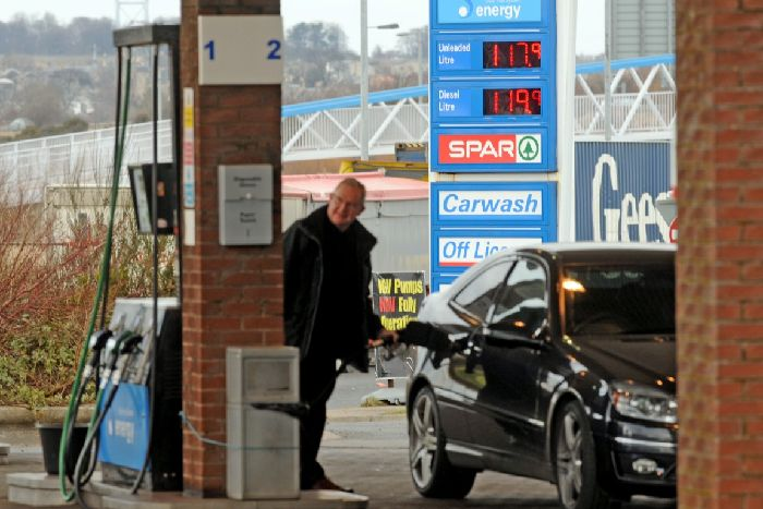 Cost of fuel hits record level - Fife Today