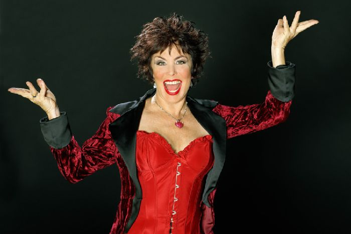 4c036eb54d Ruby Wax   I m happy being the poster girl for depression .