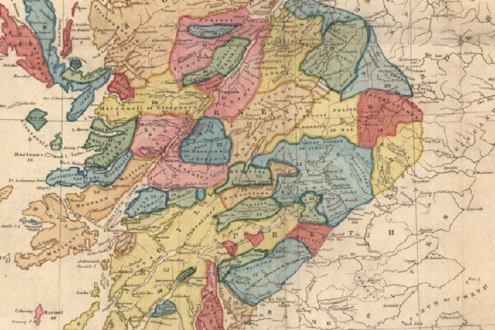 Map Of Scottish Clans Map: The 18th century territories of Scotland's clans   The Scotsman