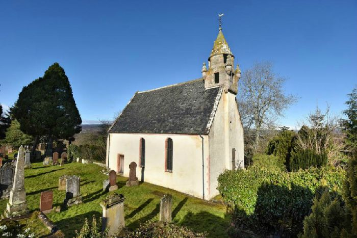 The Wardlaw Mausoleum At Kirkhill Near Inverness Where Remains Of Lord Lovat Are Rumoured