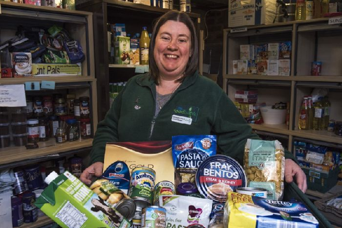 Foodbank referrals soar in areas signed up to Universal