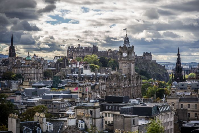 A view of Edinburgh from Calton Hill. Picture: Scott Taylor