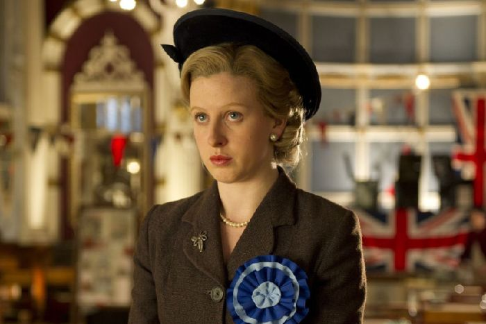 ba9a4b1a136d Alexandra Roach  playing a young Margaret Thatcher in The Iron Lady