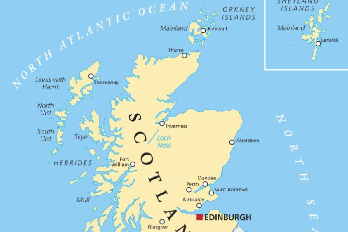 Leader Comment Maps Can Make Us See Scotland And The World - Make-a-us-map