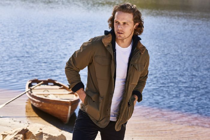 Outlander star Sam Heughan on creating his own Barbour Signature