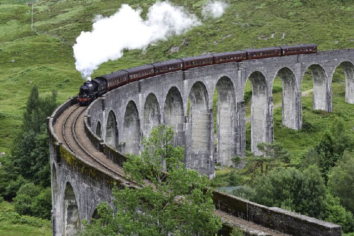 Residents who live near Glenfinnan viaduct say there's not enough car parking to cope with the numbers of tourists descending on the area. Picture: Wikicommons