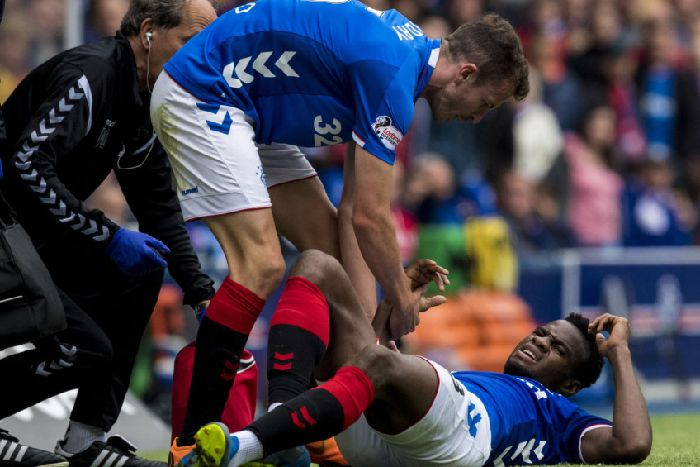Rangers ace Lassana Coulibaly sent for scan on injured thigh - The