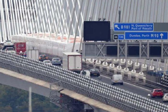 a8892a17087 Drivers have suffered evening delays since the bridge opened a year ago.  Picture: Jon