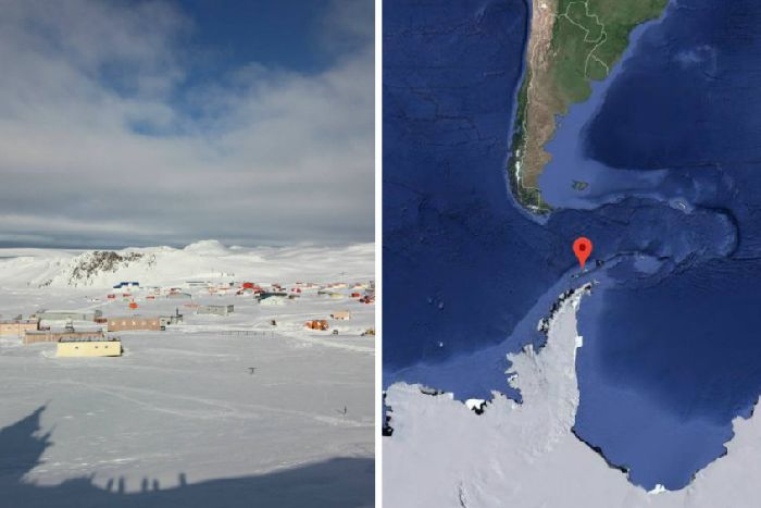 Antarctic scientist 'stabbed colleague who kept telling him