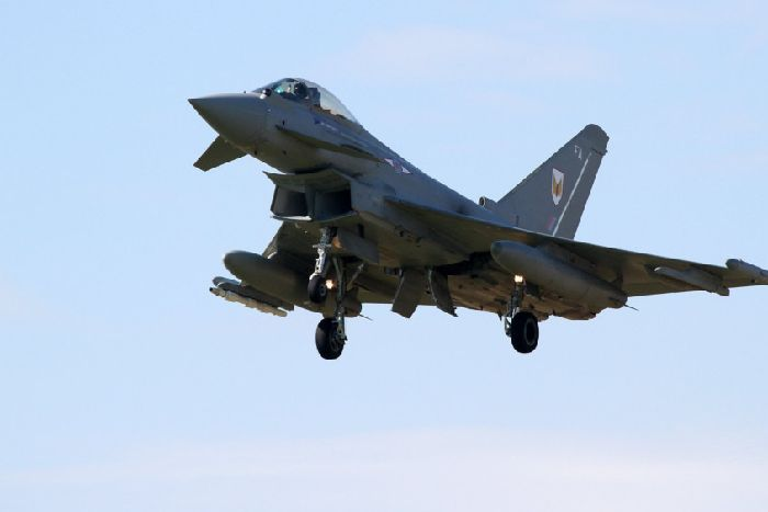 Typhoon jets scrambled in response to 'unidentified aircraft' - The